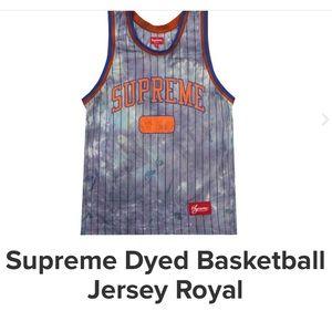Supreme Dyed Basketball Jersey Set